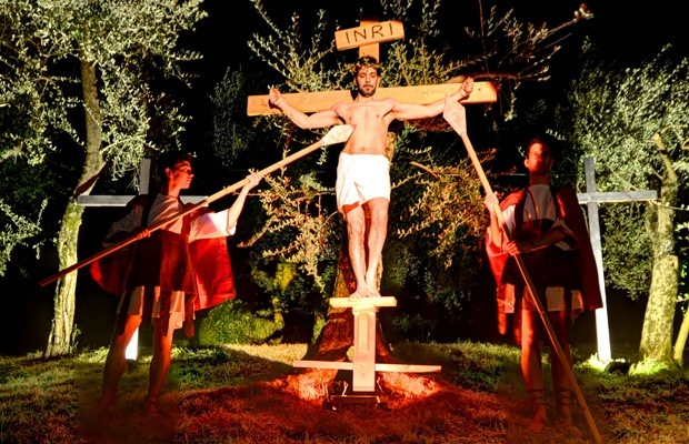 Living Via Crucis of Castelletto di Brenzone